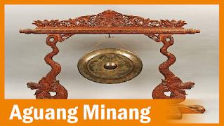 Aguang minang, gong minang