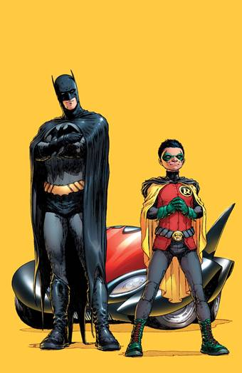 Batman and Robin, portada del número 1, de Frank Quitely