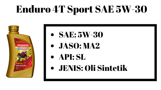 Enduro 4T sport