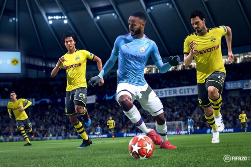 FIFA 20 liên tục và PES 2020 thống lĩnh dòng Game giả lập đá bóng