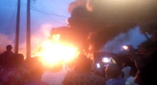 In Lagos gas explosion, 1 died and 4 injured.