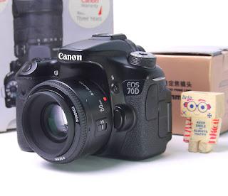 Jual Canon EOS 70D Wifi Kamera DSLR Bekas