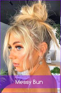 Messy Bun HairCut 2020