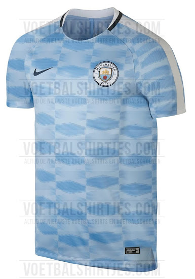 reputable site abbef 1b8bb Manchester City 17-18 Pre-Match Shirt Leaked - Footy Headlines