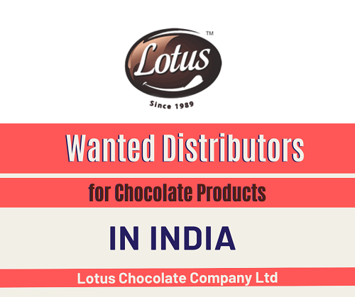 Wanted Distributors for Chocolate Products in India