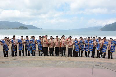 Songsong Poros Maritim Dunia, Trenggalek Prakarsai Kemah Pemuda Bahari