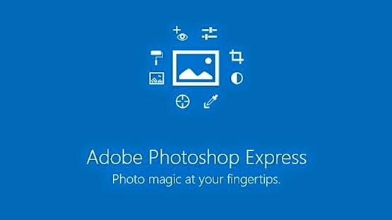 تطبيق Adobe Photoshop Express