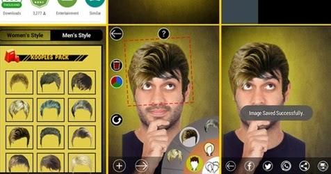 Ubah Gaya Rambut Anda dengan Aplikasi Edit Rambut di ...