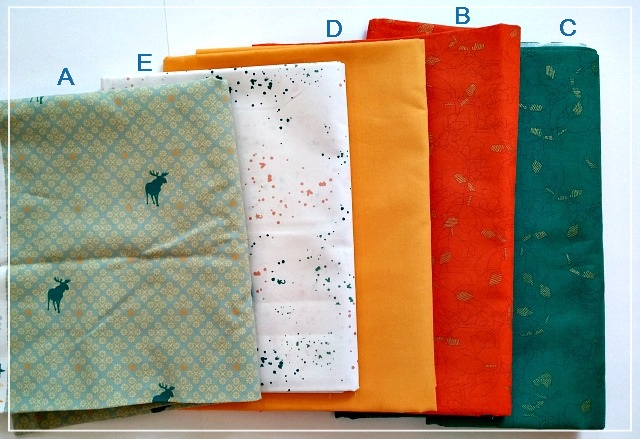 Meadow Mystery QAL, Quilt Along, Puppilalla, Fabric Set, Meadow Mist Designs
