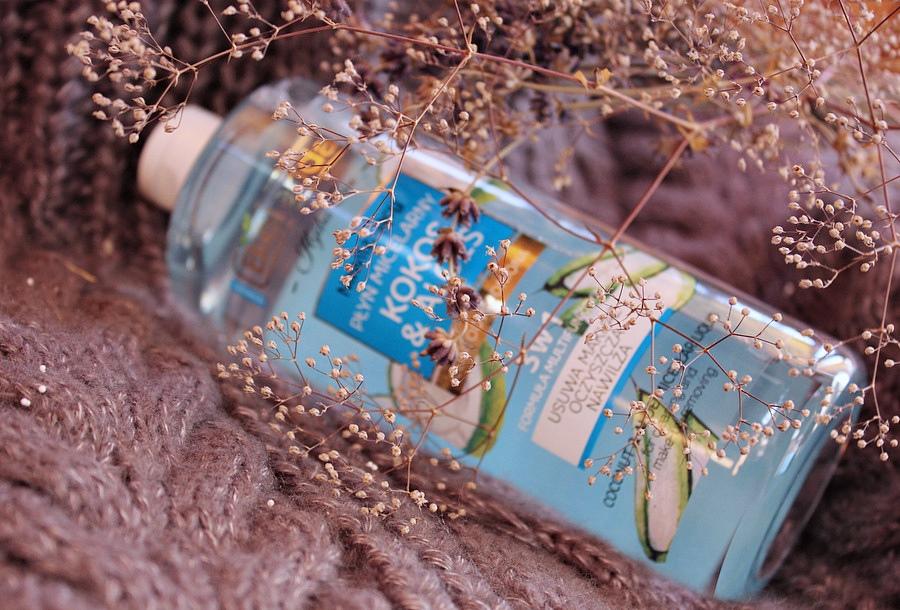 """Мицеллярная жидкость """"Кокос и алоэ"""" 3-в-1 Bielenda Hydra Care Coconut and Aloe Vera Micellar Liquid / обзор, отзывы"""
