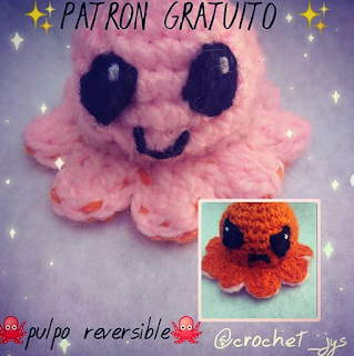 PATRON GRATIS PULPO AMIGURUMI 39786