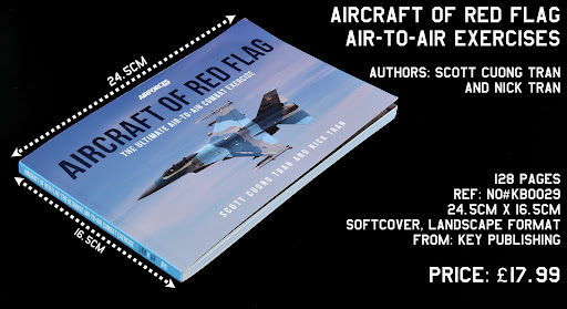 Read n' reviewed: Aircraft of Red Flag: Air-to-Air Exercises from Key Publishing