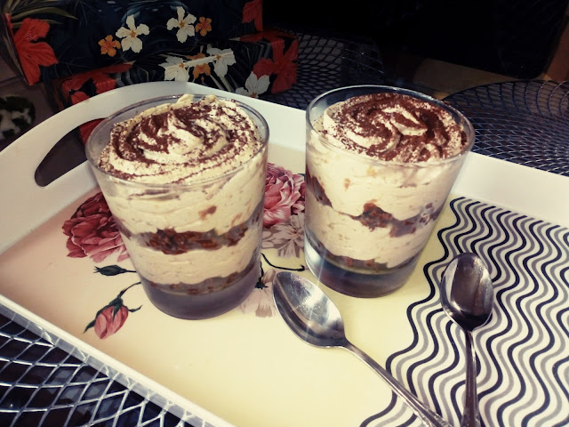 deser mocca deser kawowy deser w szklankach deser budyniowy deser z czekolada szybki deser w pucharkach