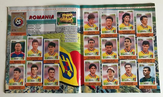 Figurine Romania Euro 96