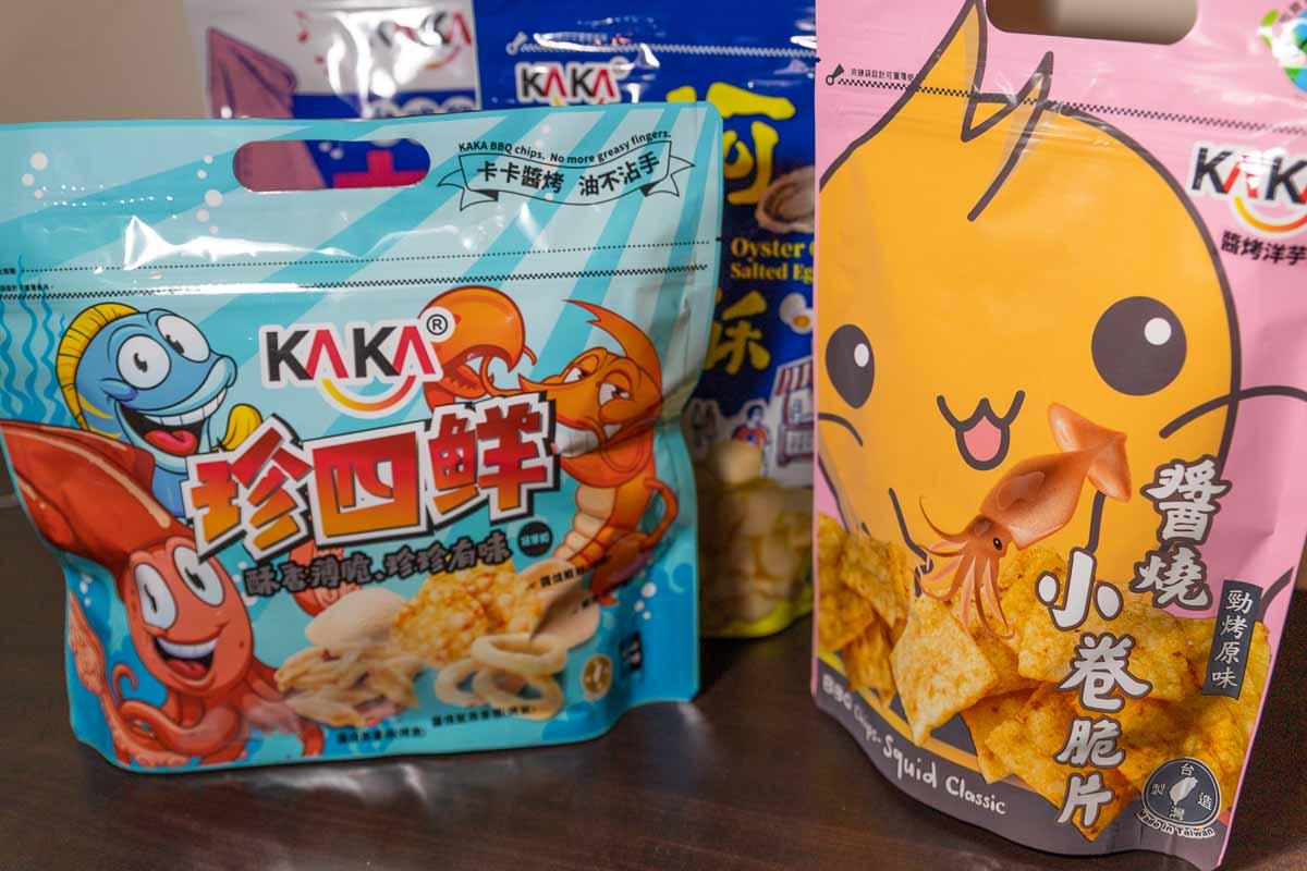 KAKA 醬烤洋芋片 團購首選