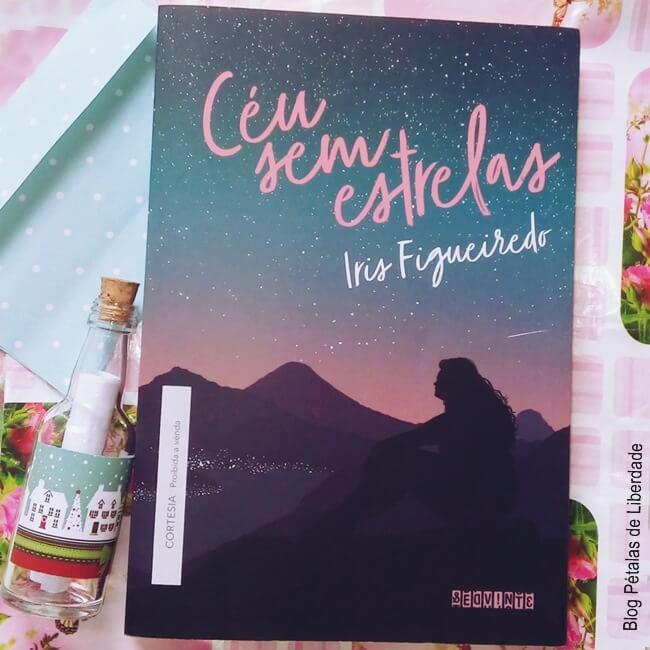 Resenha, livro, Céu-sem-estrelas, Íris-Figueiredo, seguinte, capa