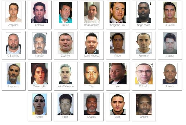 Governo divulga lista de criminosos mais procurados do Brasil