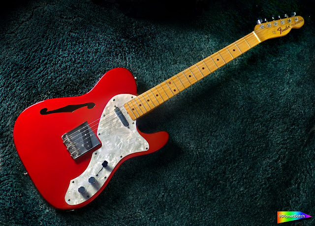 Fender Telecaster Thinline Candy Apple Red