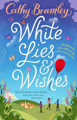 White Lies and Wishes by Cathy Bramley book cover