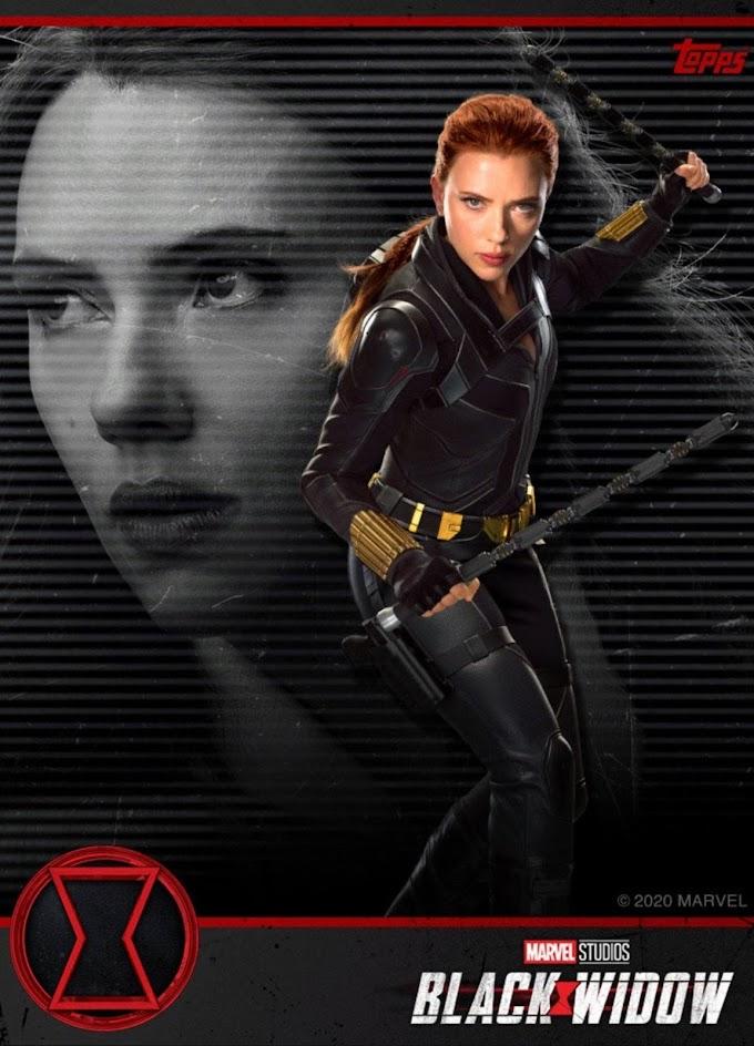 マーベルのスピンオフ映画「ブラック・ウィドウ」の全米公開まで、あと2ヶ月‼️のカウントダウン・ビデオとトップスのスカーレット・ジョハンソンのナターシャの新しいトレカ‼️