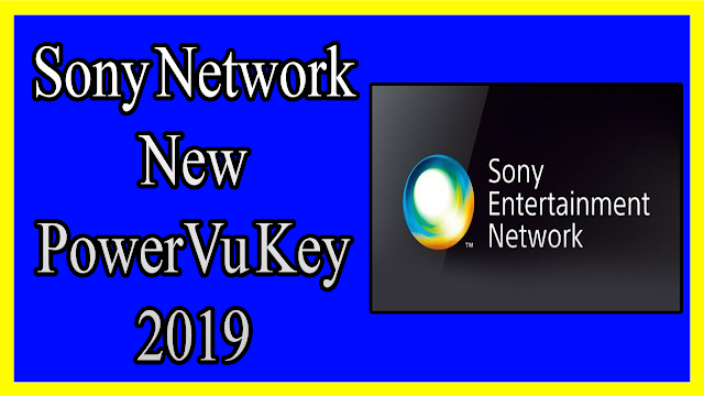 Sony Network New PowerVu Key 2019