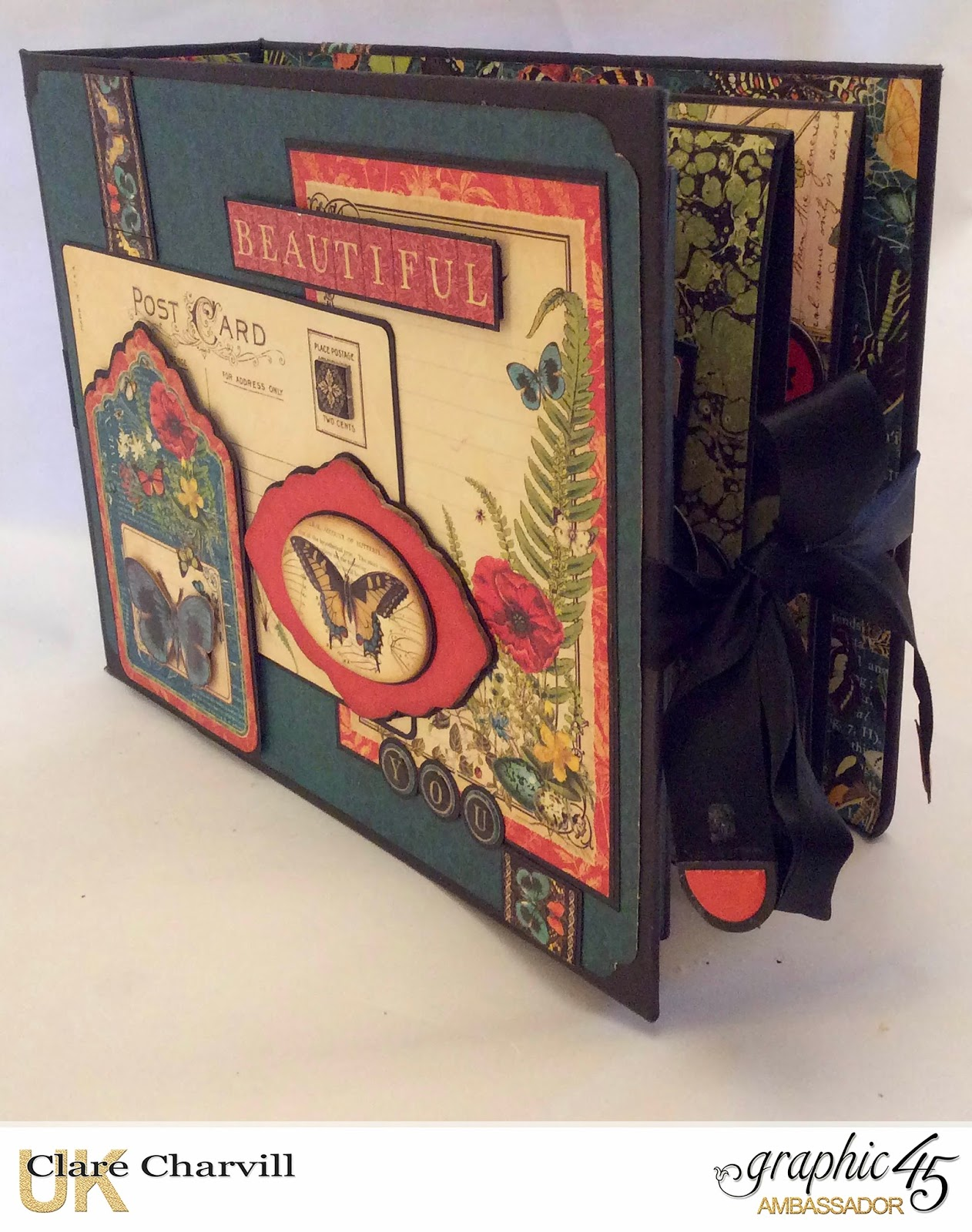 A picture postcard album its quite a detailed album with a full on line workshop link above if youd like to make it yourself while i was flicking through the pages i solutioingenieria Gallery