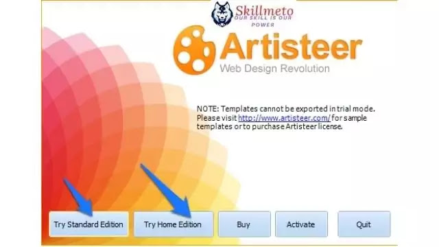 How to create a website with Artisteer?