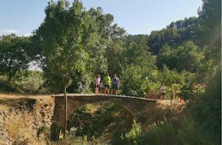 Parajes naturales alrededor de Arguellite.