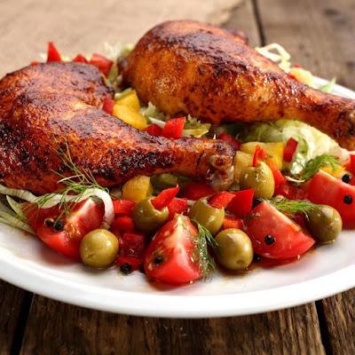 دجاج مشوي فى الفرن