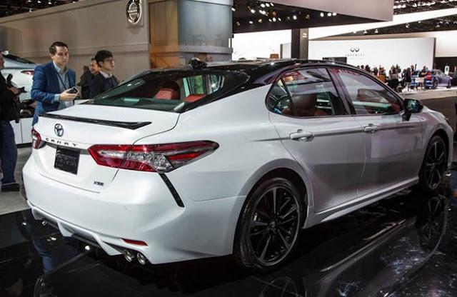 2018 Toyota Camry Xse Interior