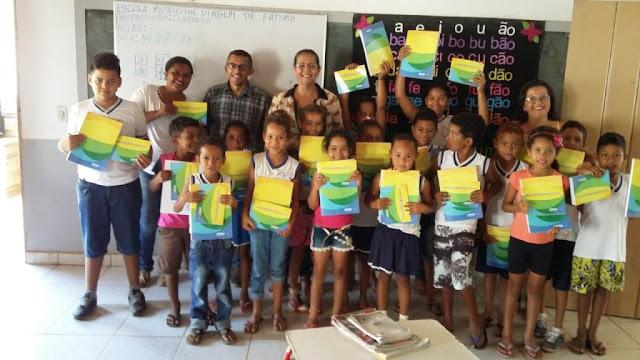 Formosa: escolas da zona rural recebem cadernos, laptops e carteiras