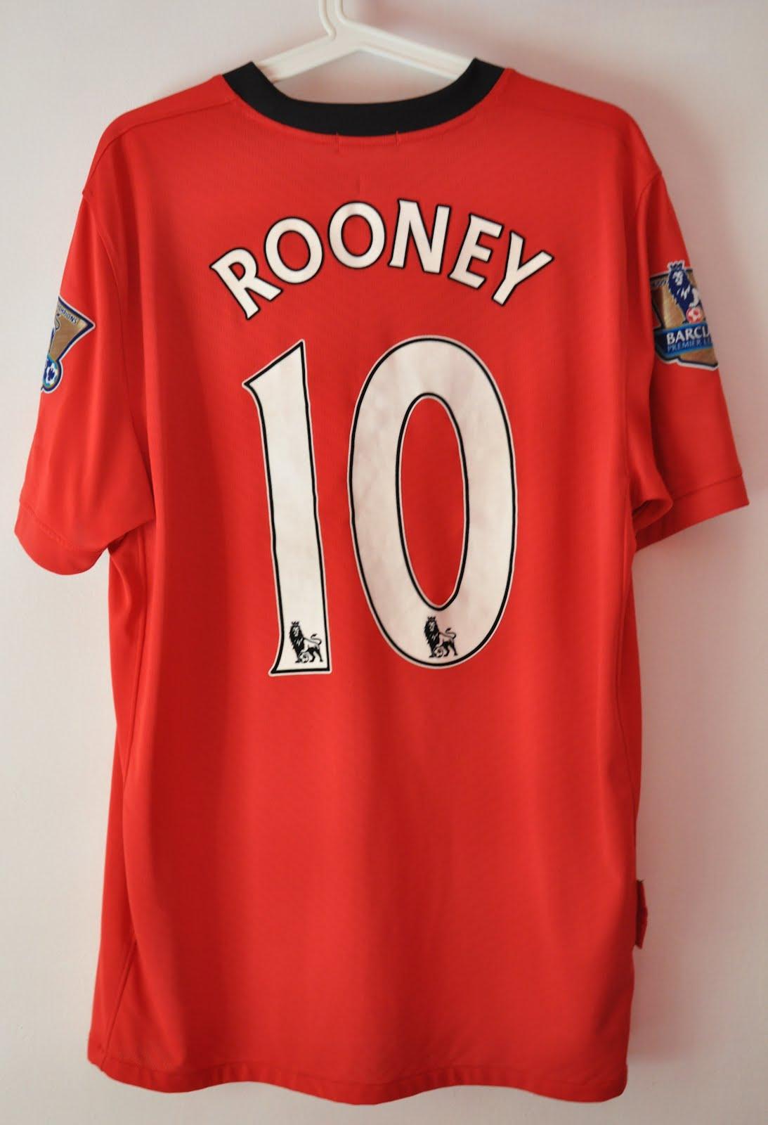 san francisco c9e39 7381a DAUS REDSCARZ: Manchester United 2009-2010 Home Kit ...