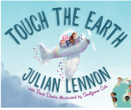 Julian Lennon, children's books, Earth Day