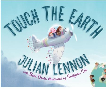 Julian Lennon, children's books, Earth Day