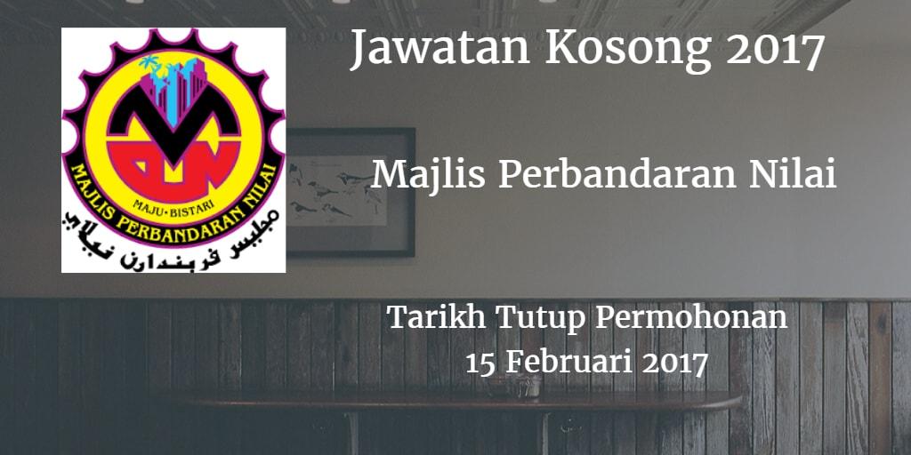 Jawatan Kosong MPN 15 Februari 2017
