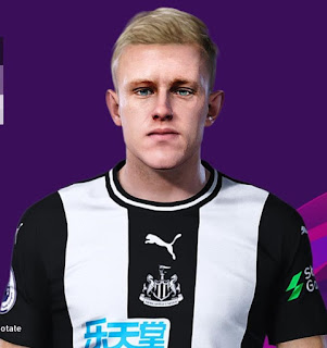 PES 2020 Faces Sean Longstaff by Rachmad ABs