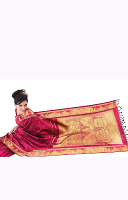 RMKV Theme Silk Sari Collections