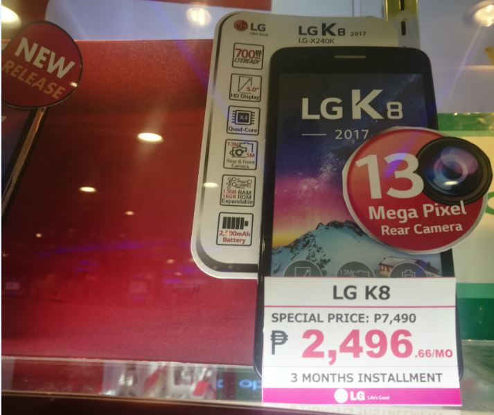 LG Updates K Series with K7, K8 and K10  Price Philippines