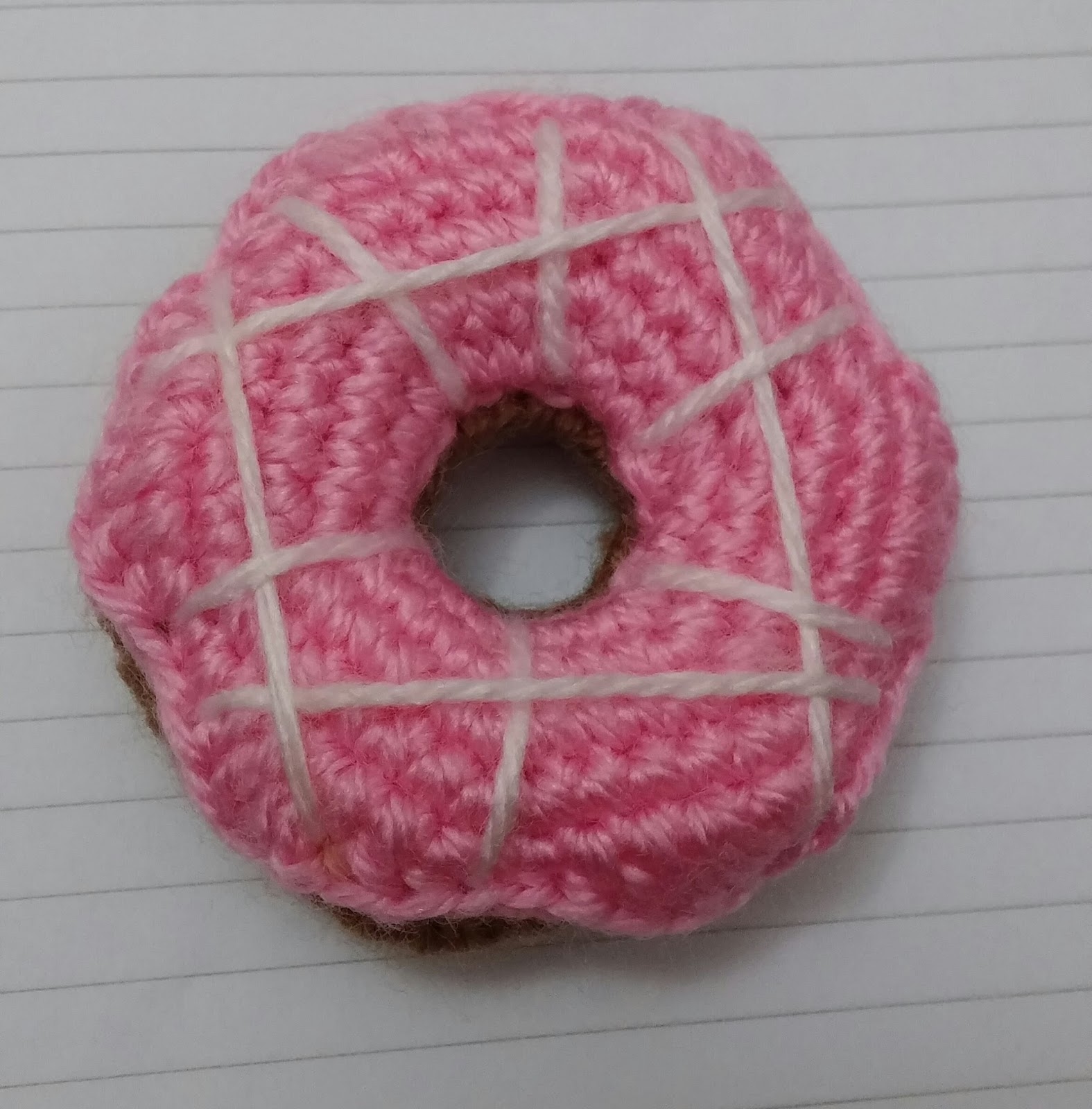 Amigurumi Donut Patron : Amigurumi Cenneti: Amigurumi Donut Free Pattern