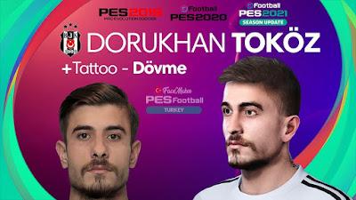 PES 2021 Faces Dorukhan Toköz by PES Football Turkey