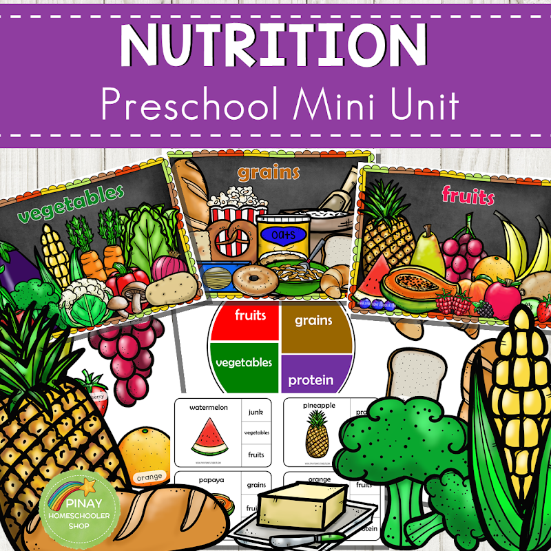 Food and Nutrition Preschool and Kindergarten Mini Unit