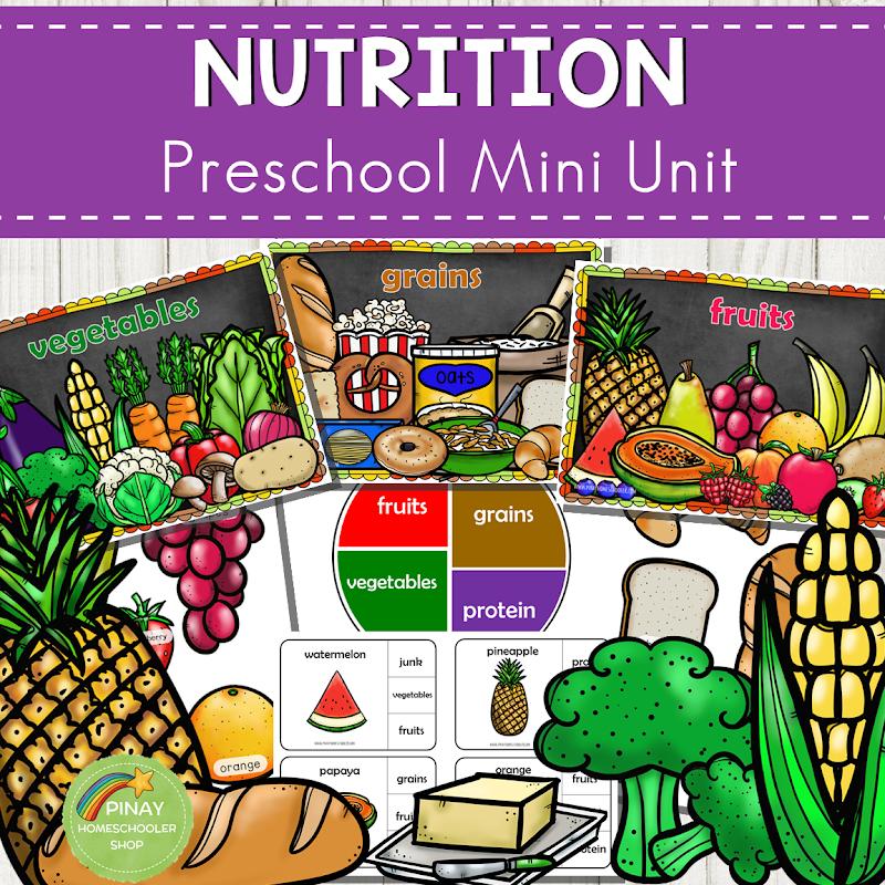 Food and Nutrition Preschool and Kindergarten Mini Unit