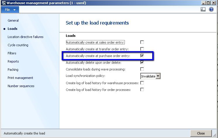 Microsoft Dynamics Consulting: Warehouse Management : Purchase Order