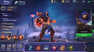 Build Aldous Mobile Legends Terbaru 2019, Dijamin Mantap!