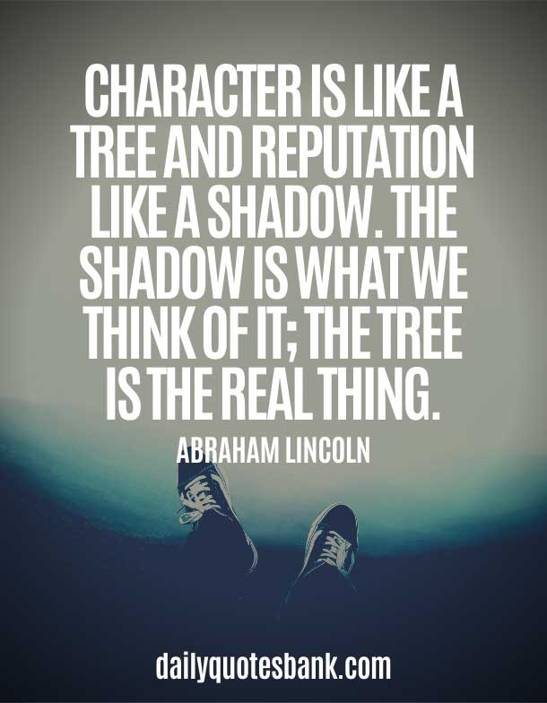 Positive Quotes About Personality and Character