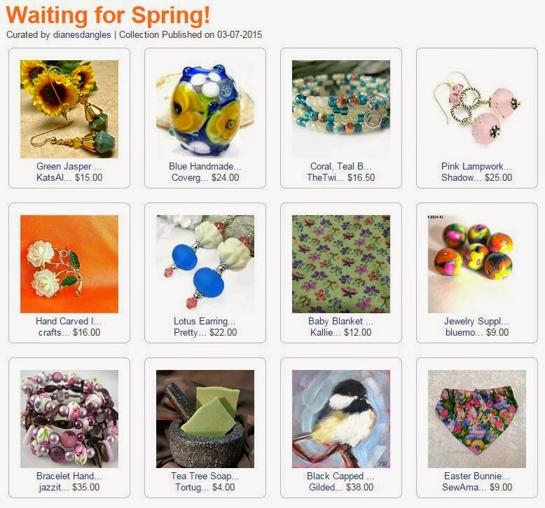 Waiting for Spring! curated by dianesdangles on ArtFire