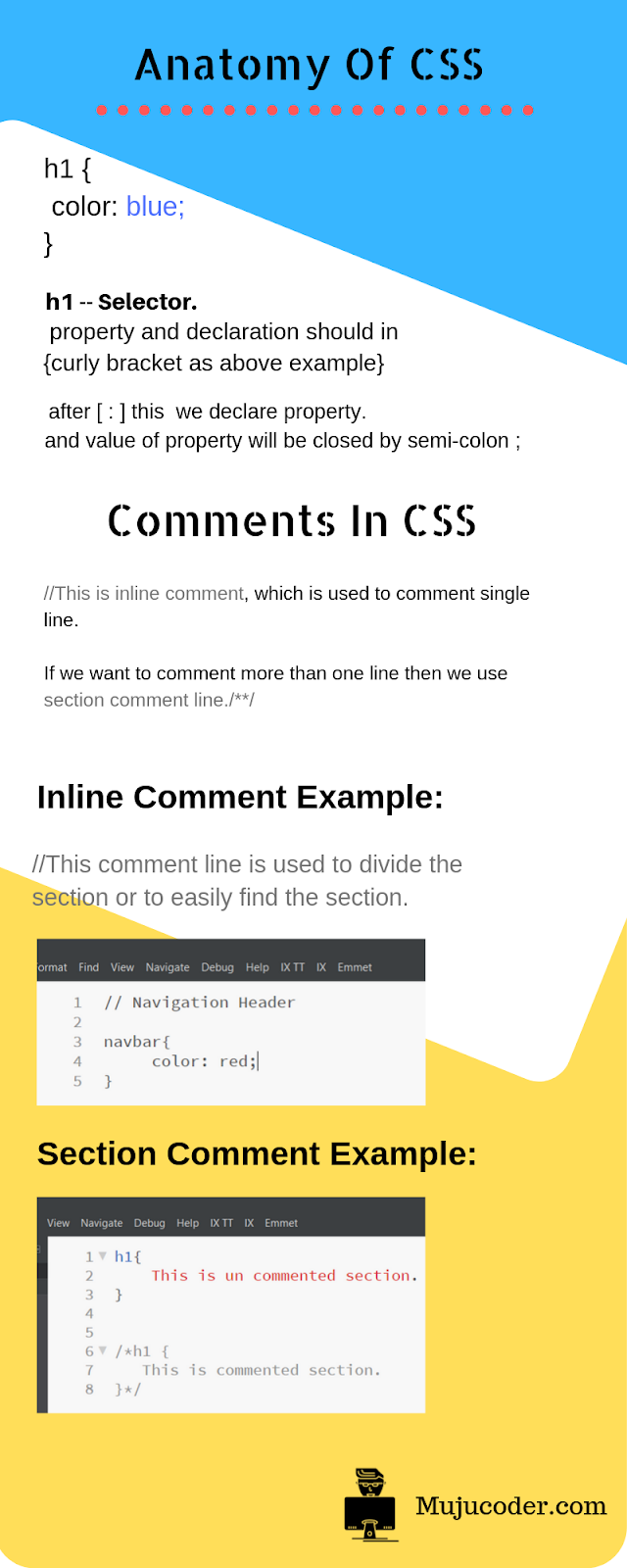 css rules for beginners