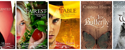 Chanda Hahn: Fairest Nominated for Best Fantasy Book of the Year!