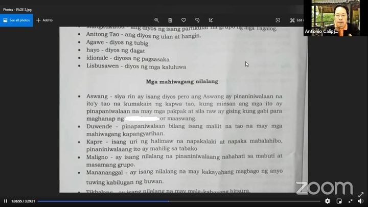 Grade 10 learning module in Pampanga contains vulgar word
