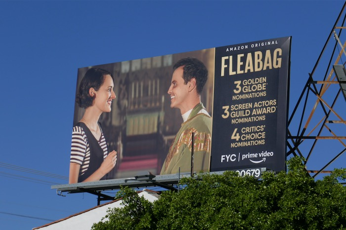 Fleabag 2020 Golden Globe nominee billboard